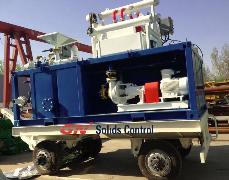 Sistema de limpieza del lodo para perforaci n de pozo de for Limpieza de pozos de agua